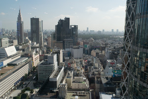 View from Nikon service center Shinjuku